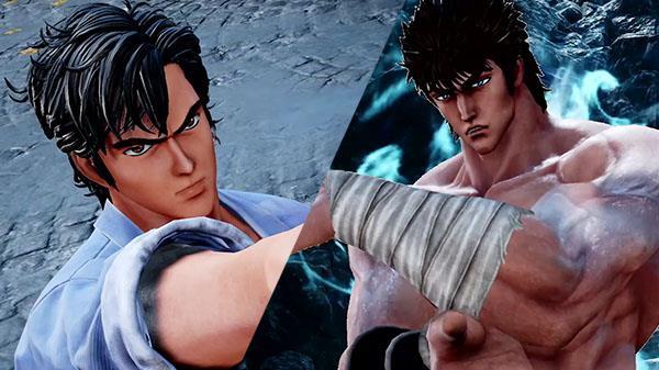 Ryo Saeba e Kenshiro Jump Force