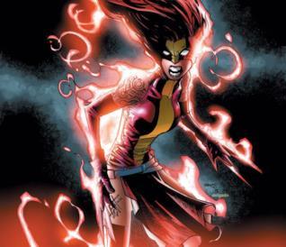 La fusione tra Scarlet Witch e Wolverine (X-23)