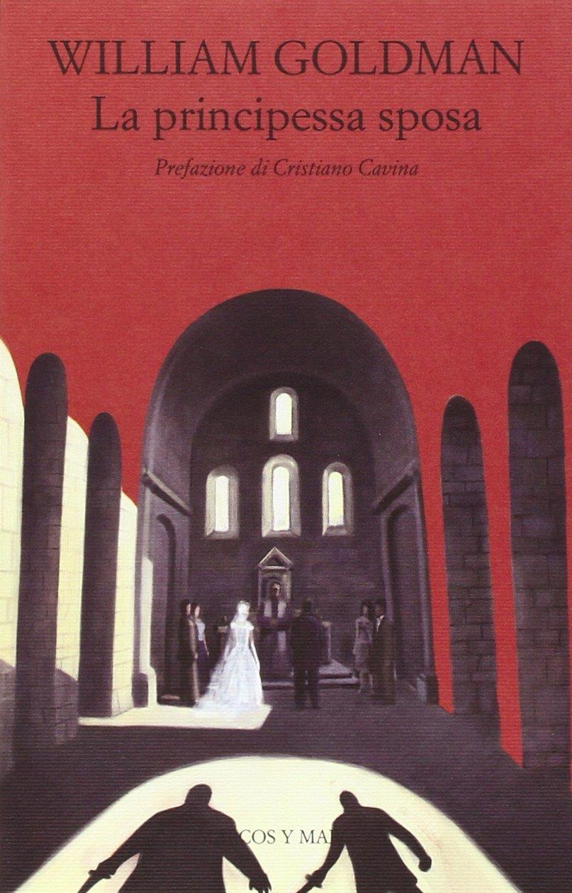 La copertina de La principessa sposa