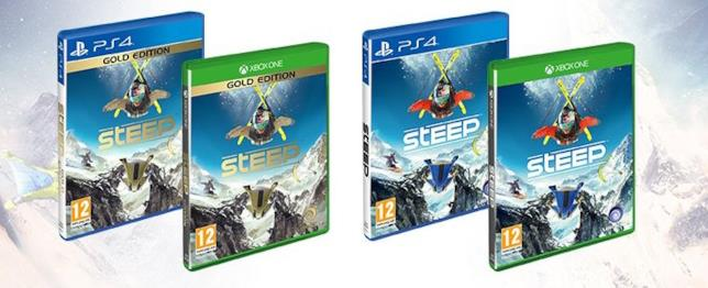 Steep per PS4 e Xbox One nella versione standard e gold