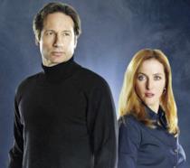 David Duchovny e Gillian Anderson nel nuovo X-Files