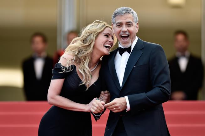 George Clooney e Julia Roberts insieme sul red carpet
