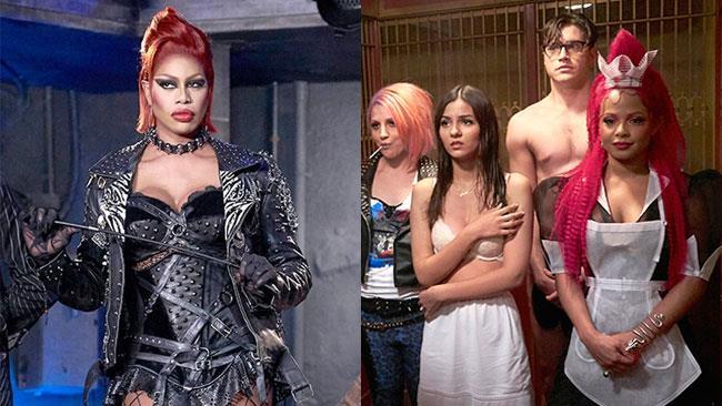 Laverne Cox e il cast del Rocky Horror Picture Show