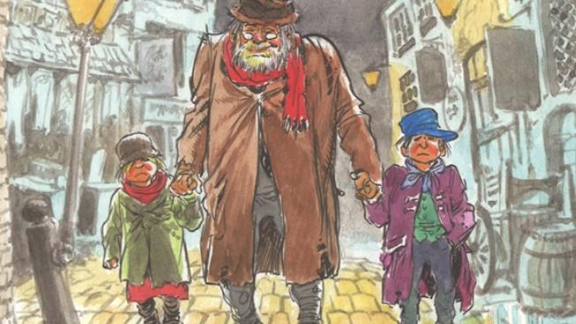 La copertina del fumetto Fagin l'ebreo
