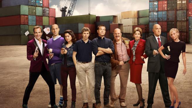 Il cast della serie TV Arrested Development