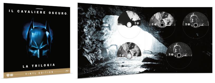 La Vinyl Edition con la trilogia del Cavaliere Oscuro