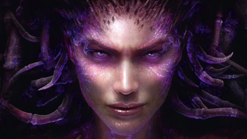 Kerrigan sulla cover di StarCraft II