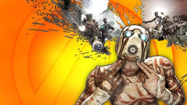 Un concept art realizzato da Gearbox Software per Borderlands 2