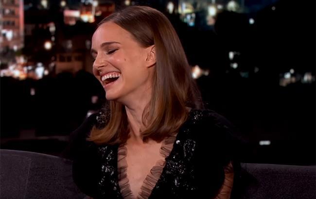 Natalie Portman al Jimmy Kimmel Live!