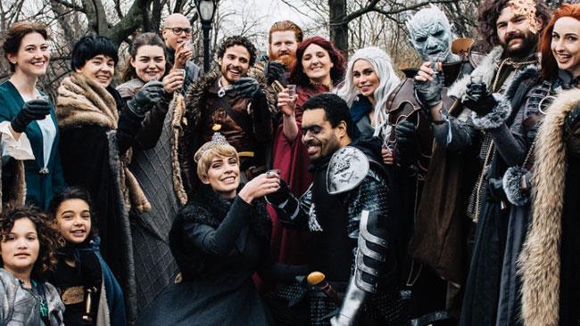 cb3170e003fb Game of Thrones  Matrimonio a tema Trono di spade. E  realtà!