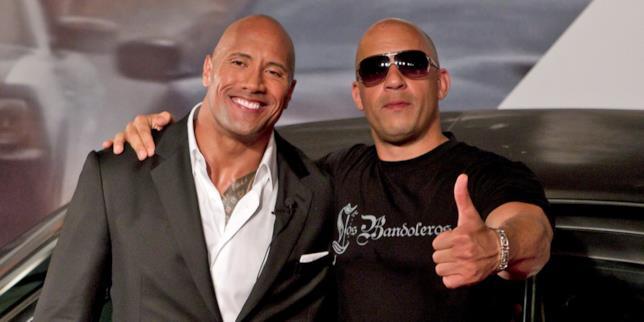 The Rock e Vin Diesel