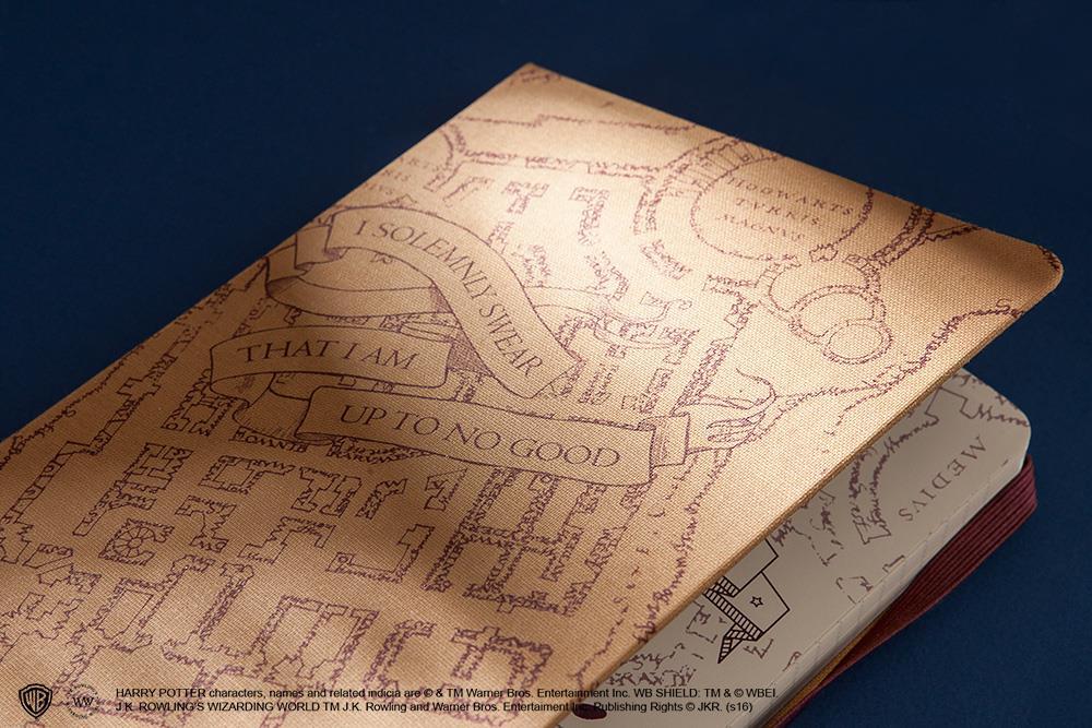 Una copertina dell'edizione limitata Moleskine su Harry Potter