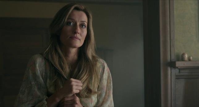 Natascha McElhone durante una scena di Mr. Church
