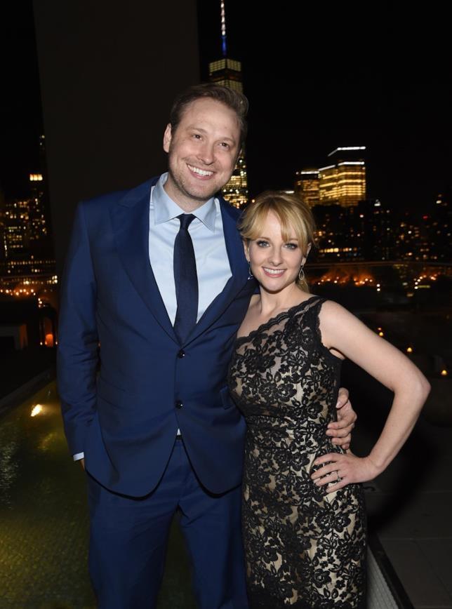 Melissa Rauch con il marito