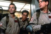 Bill Murray, Harold Ramis e Dan Aykroyd in una scena del primo Ghostbusters