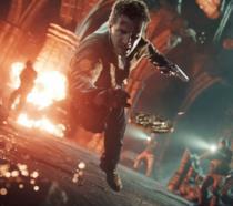 Nathan Drake in azione nel quarto capitolo di Uncharted