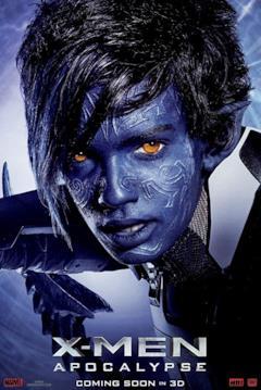 Un poster del film con il primo piano di Nightcrawler