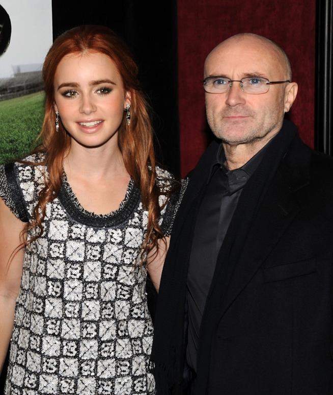 Phil Collins e la figlia Lily