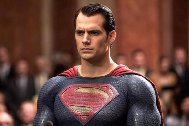 Henry Cavill sarà Superman anche n Justice League