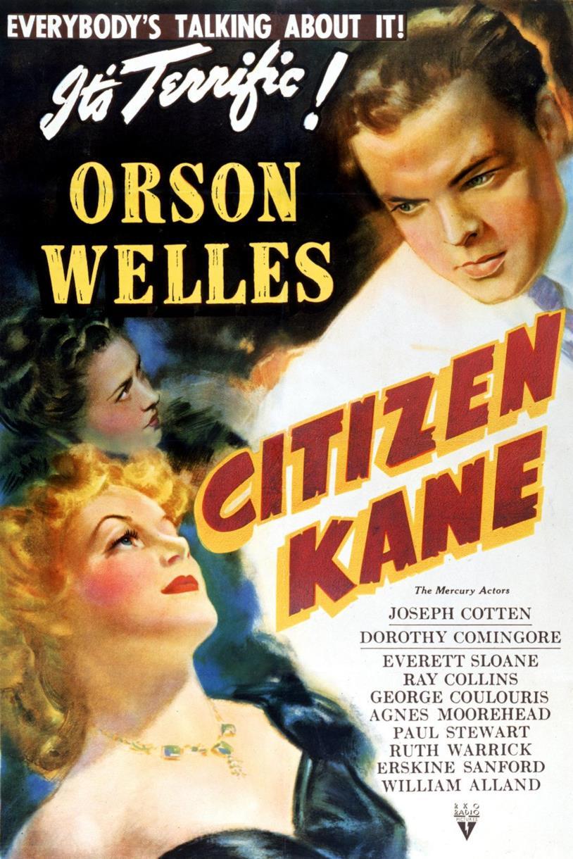 Il poster originale di Quarto Potere (Citizen Kane)