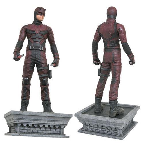 Fronte e retro statua Daredevil