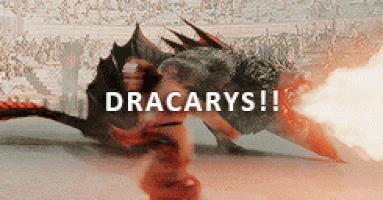 Il fuoco dei draghi in Game of Thrones