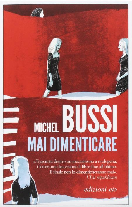 La copertina italiana di Mai dimenticare
