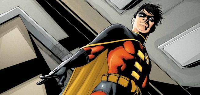 Un'immagine di Robin, personaggio DC Comics