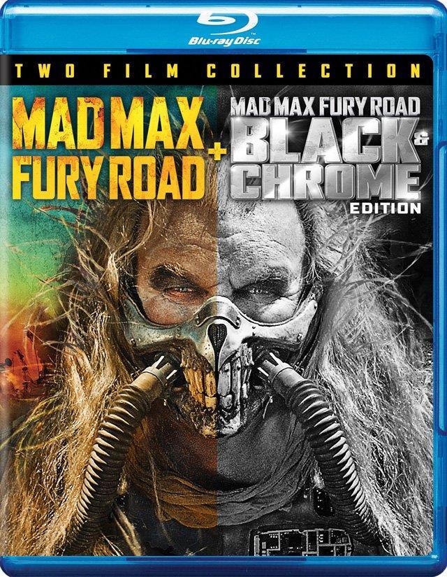 Copertina della Black & Chrome di Fury Road