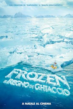 Olaf perso nel ghiaccio nel teaser poster di Frozen