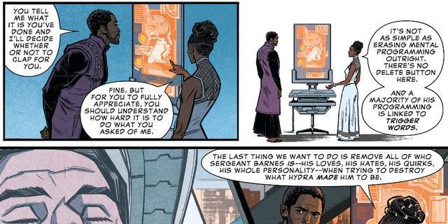 T'Challa e Shuri nel fumetto preludio di Infinity War