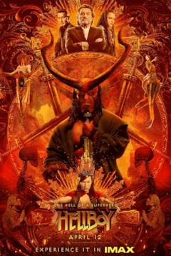 Il poster IMAX di Hellboy