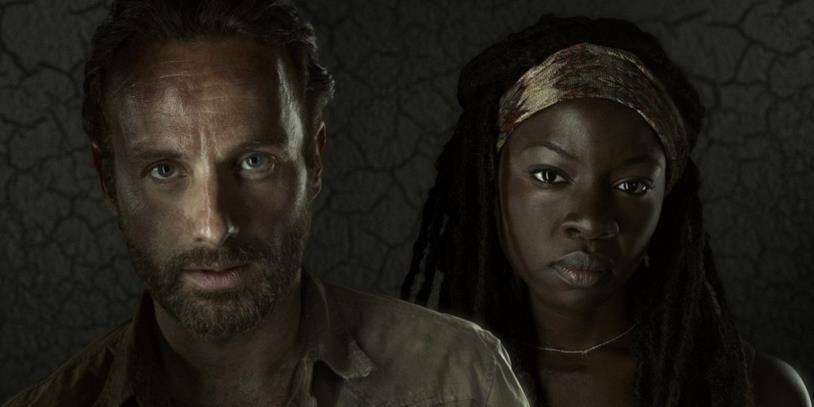 The Walking Dead: Rick e Michonne