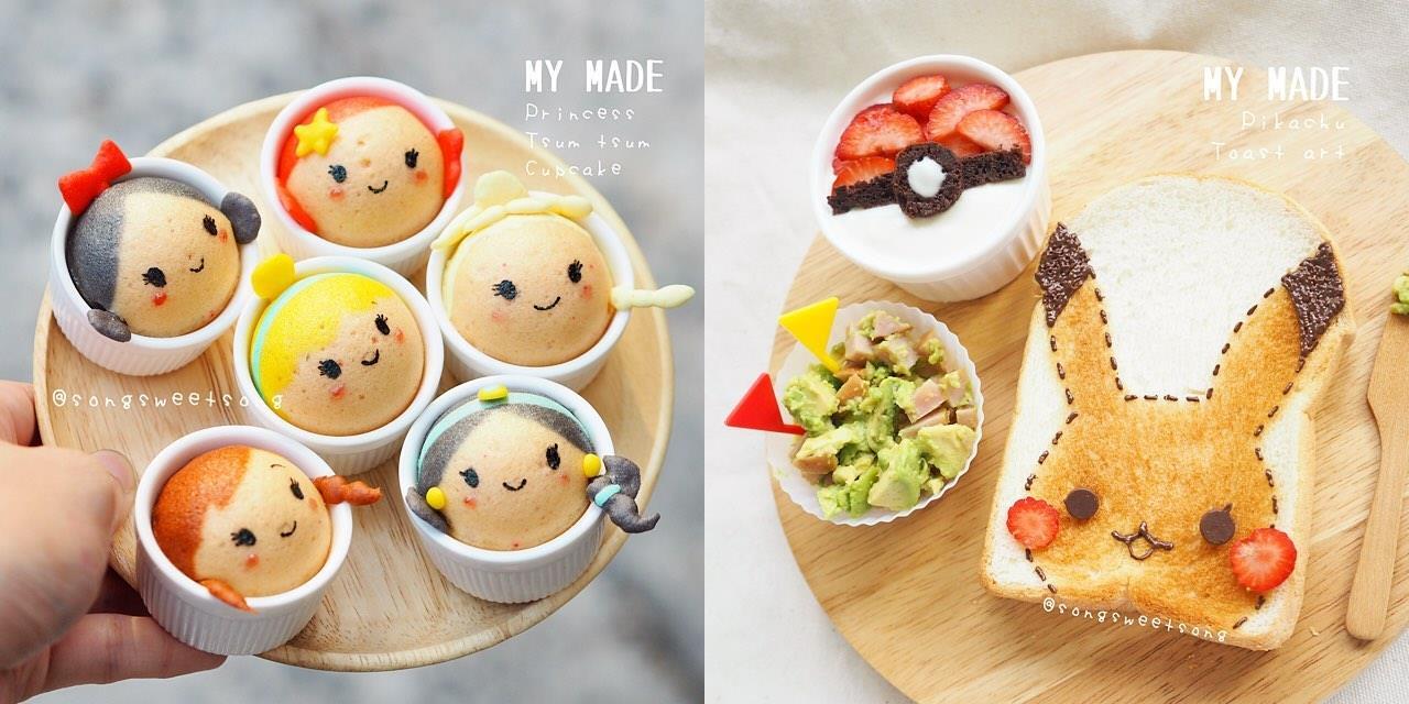 Le colazioni ispirate alle Principesse Disney e ai Pokémon
