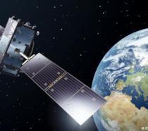 Un'illustrazione di uno dei satelliti della rete di navigazione Galileo realizzata da Pierre Carril