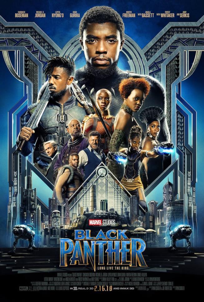Il cast di Black Panther riunito nel nuovo poster