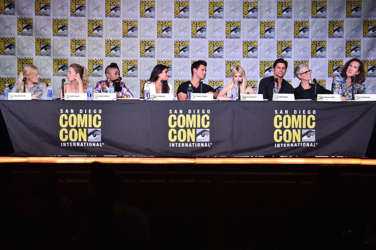 Il cast della seconda stagione di Scream Queens al Comic-Con