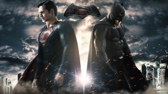 poster di Batman v Superman