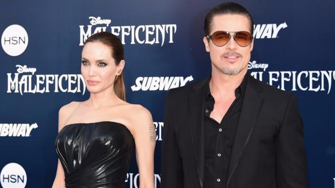 Brad Pitt e Angelina Jolie alla prima mondiale di Maleficent