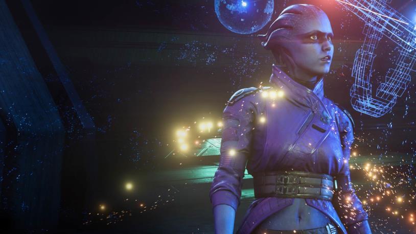 Una delle protagonisti di Mass Effect: Andromeda