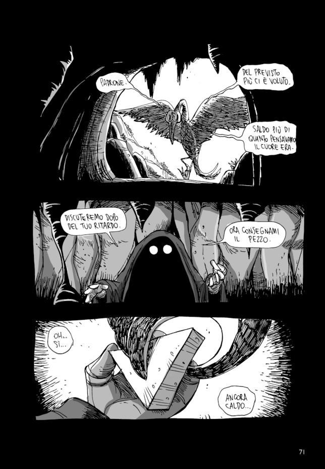 Tavola col signore oscuro in Macerie Prime