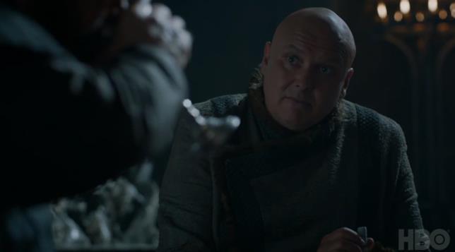 Varys e Tyrion a colloquio