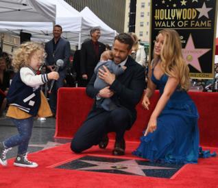 Ryan Reynolds e Blake Lively e le loro figlie