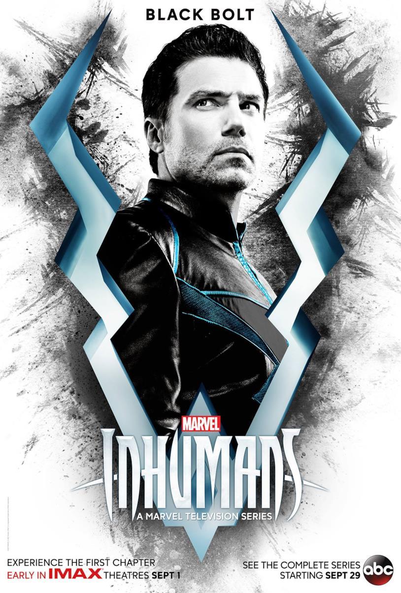 Black Bolt, Inhumans
