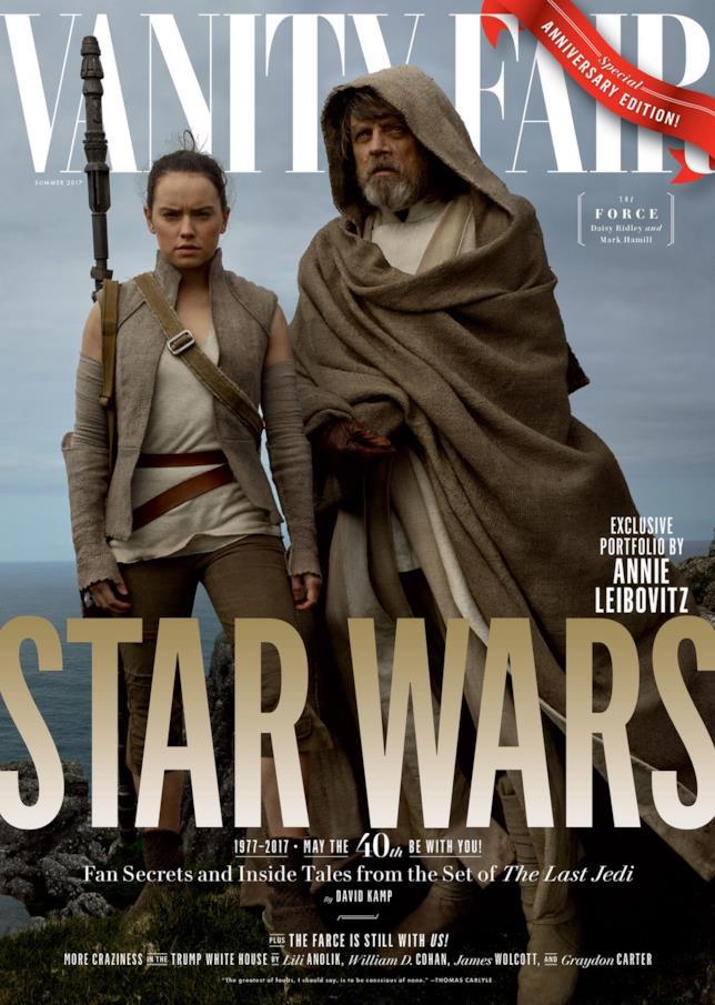 Vanity Fair: la copertina con Rey e Luke