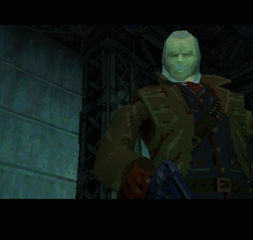 Ocelot si palesa in Metal Gear Solid