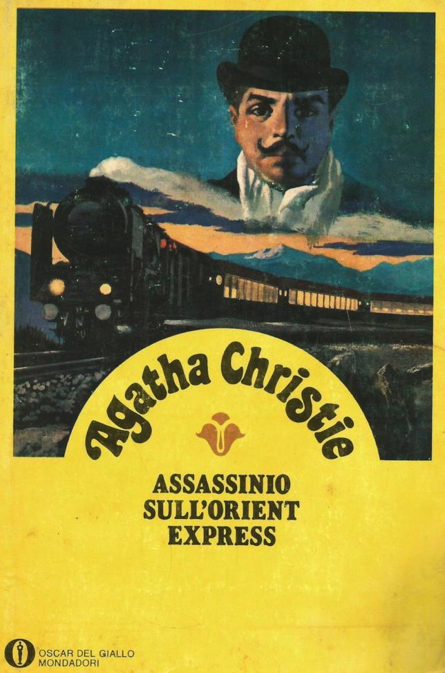 Una copertina d'epoca di Assassinio sull'Orient Express