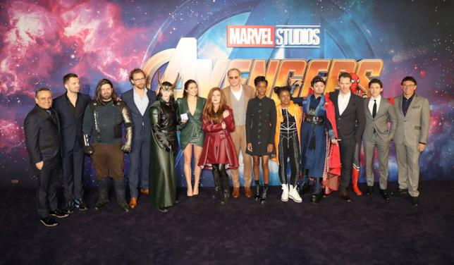 I protagonisti di Avengers: Infinity War in uno scatto di gruppo