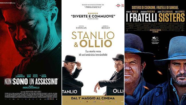 I poster di Non sono un assassino/Stanlio & Ollio/I fratelli Sisters