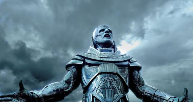 Oscar Isaac nel ruolo di Apocalisse